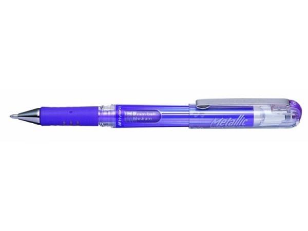 Roller Pentel Hybrid Gel 1mm deckend violett metallic