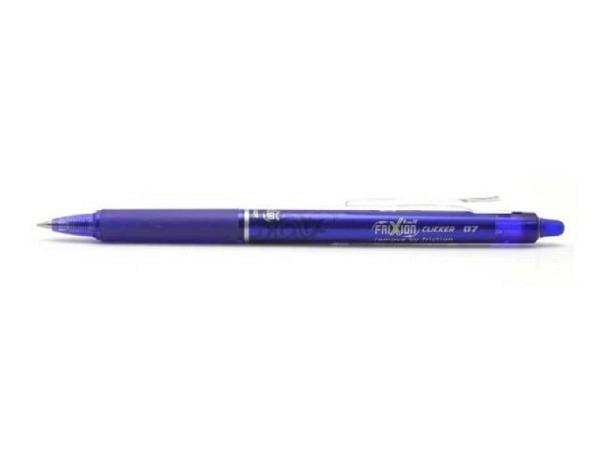 Roller Frixion Clicker 07 blau, mit einziehbarer Spitze