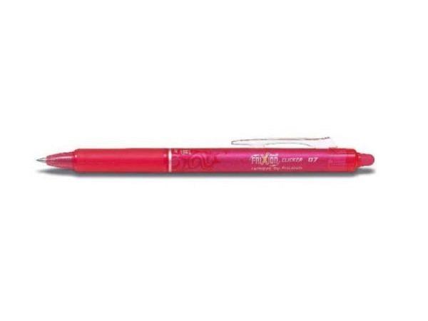 Roller Frixion Clicker 07 pink, mit einziehbarer Spitze