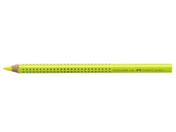 Leuchtstift Faber-Castell Natur gelb schlägt nicht d. Papier