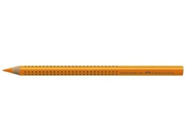 Leuchtstift Faber-Castell Natur orange schlägt n. d. Papier