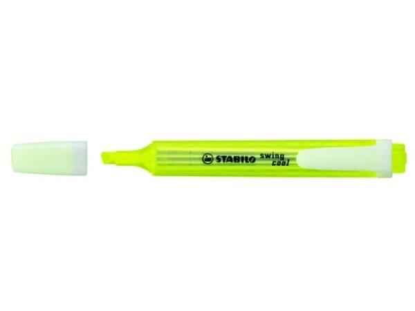 Leuchtstift Stabilo Swing Cool 27524 gelb