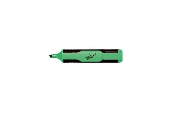Leuchtstift Büroline mit Kappe mit Clip grün