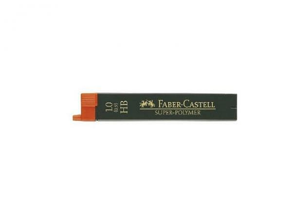 Mine Faber-Castell 1,0mm HB 12Stk, extrem bruchfest