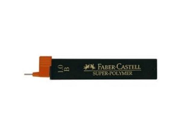 Mine Faber-Castell Super Polymer 9069 1mm B, 6cm 12Stk.