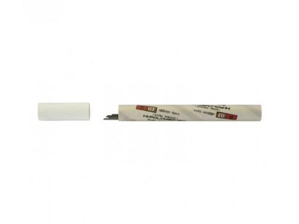 Minen Pentel Hi-Polymer 120 0,3mm 2H, 60mm lang, tiefschwarz