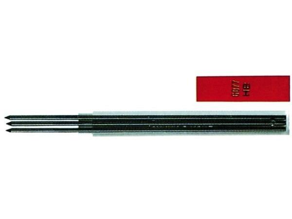 Minen Fixpencil schwarz 2mm 6077.462 2H 3Stk.