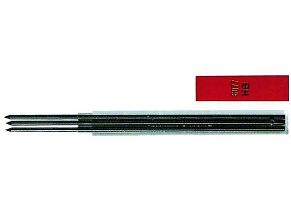 Minen Fixpencil schwarz 2mm 6077.452 2B 3Stk.