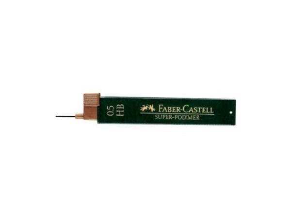 Mine Faber-Castell 0,5mm HB Dose mit 15Stk., 60mm lang