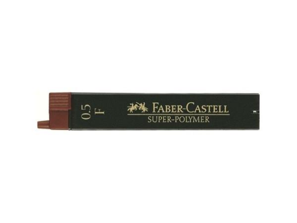 Mine Faber-Castell Super Polymer 0,5mm F, Dose mit 12 Stück