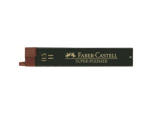 Mine Faber-Castell Super Polymer 0,5mm H, Dose mit 12 Stück