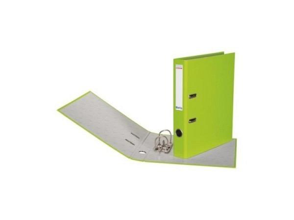 Ordner Biella Bundesordner A4 4cm hellgrün