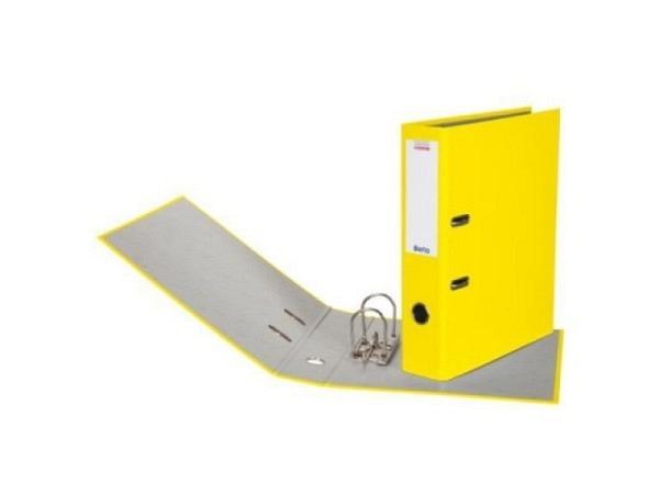 Ordner Biella Bundesordner A4 7cm gelb