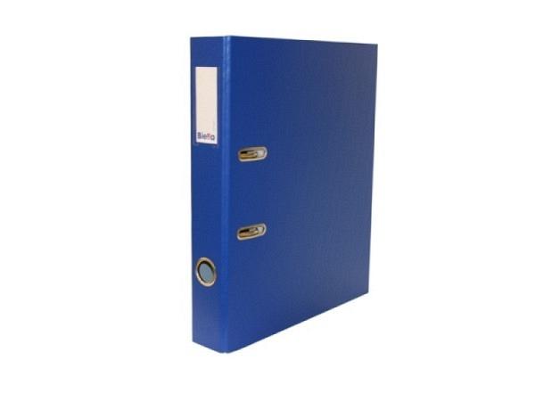 Ordner Biella Plasticolor A4 4cm dunkelblau<br>