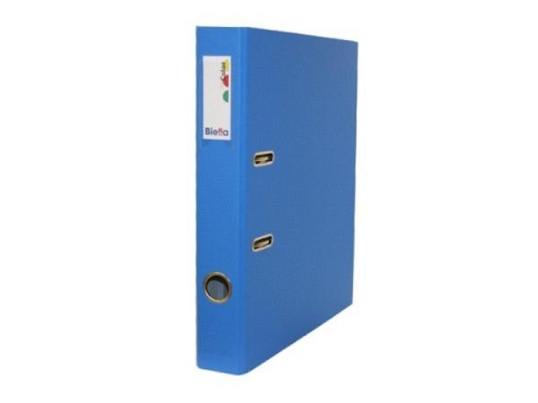 Ordner Biella Plasticolor A4 4cm blau