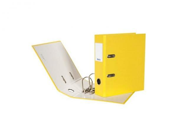 Ordner Biella Plasticolor A5 7cm gelb