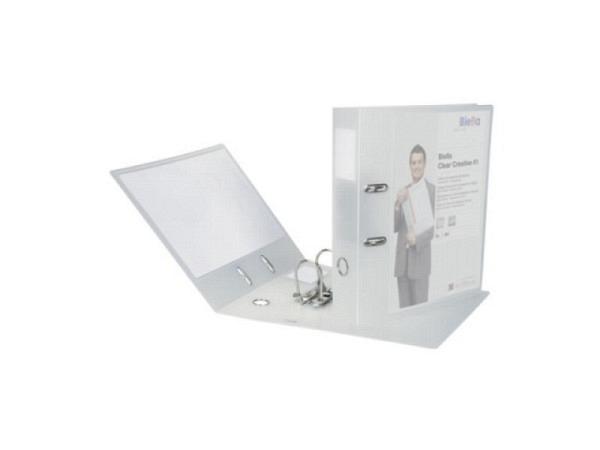 Ordner Biella Clear Creative 1 A4 7cm mit Sichttasche