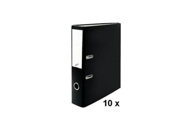Ordner Büroline A4 2Ring 7cm schwarz Sparpaket