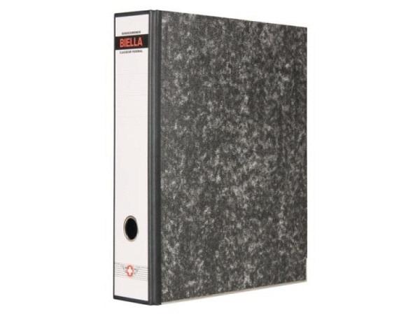 Ordner Biella Bundesordner Retro A4 7cm Marmor