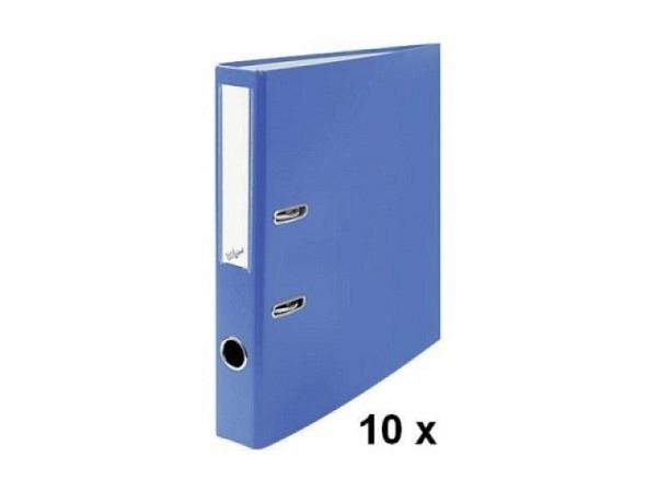 Ordner Büroline A4 2Ring 4cm blau Sparpaket mit 10Stk.