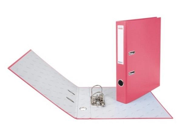 Ordner Biella Bundesordner A4 4cm rosa