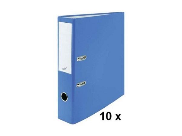 Ordner Büroline A4 2Ring 7cm blau Sparpaket mit 10Stk.