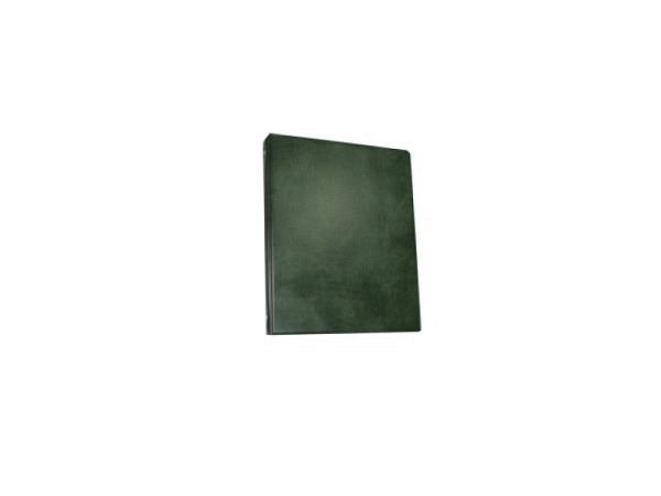 Ringbuch 13-2-R/P-4 Kunstst. A5 4Ring 13mm grün