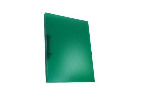 Ringbuch Kolma Easy A4 2 Ring 3cm breit, transparent grün