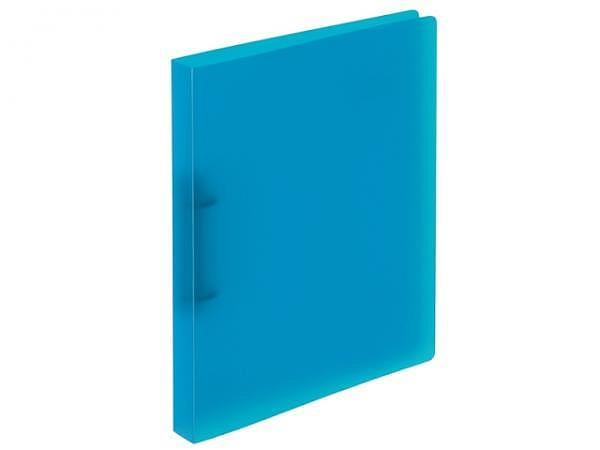 Ringbuch Kolma Easy A4 2 Ring 3cm breit, transparent blau