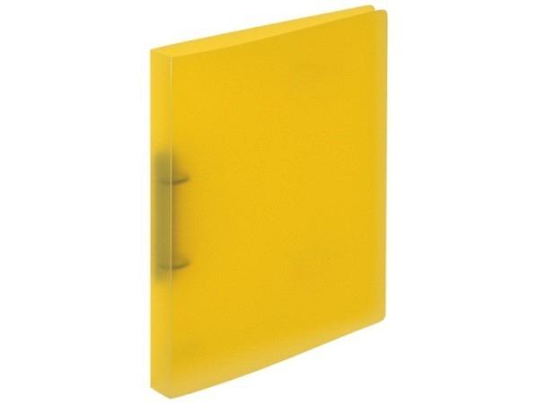 Ringbuch Kolma Easy A4 2 Ring 3cm breit, transparent gelb
