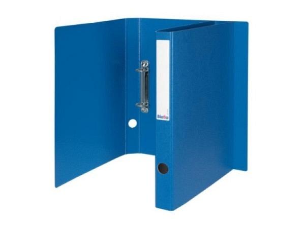 Ringbuch Biella Viria A4 2-Ring 31mm breit, blau