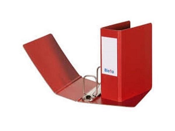 Ringbuch Biella Coupon A6 Hochformat rot