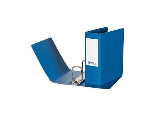 Ringbuch Biella Coupon A6 Hochformat blau