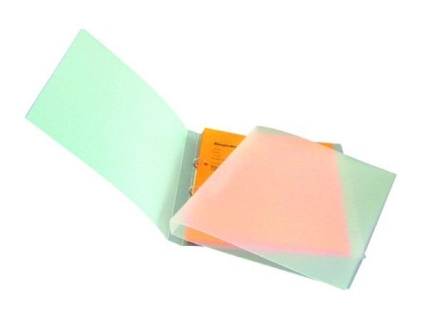 Ringbuch Biella Cylar transparent farblos A4 2cm