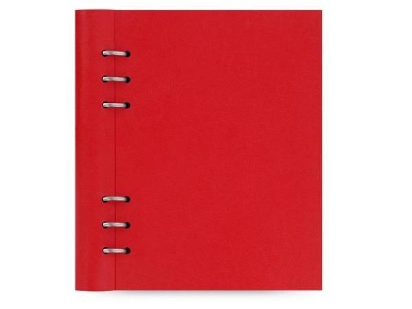 Ringbuch Filofax Clipbook A5 fuchsia Kunstleder Softcover
