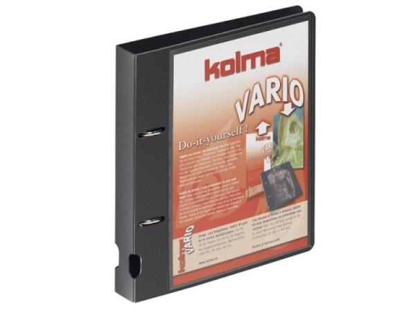 Ringbuch Kolma Vario A5 2 Ring 2,2cm breit schwarz