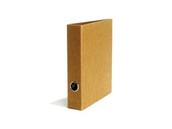 Ringbuch Schwartz Kraftpapier 5cm Rückenbreite, A5