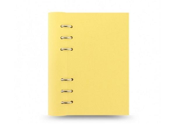 Ringbuch Filofax Clipbook A5 lemon gelb