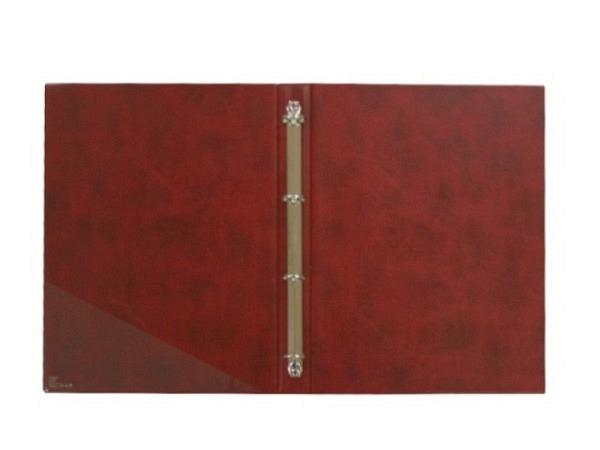 Dokumentenmappe ASL Matrix schwarz A4, genarbtes Kunstleder