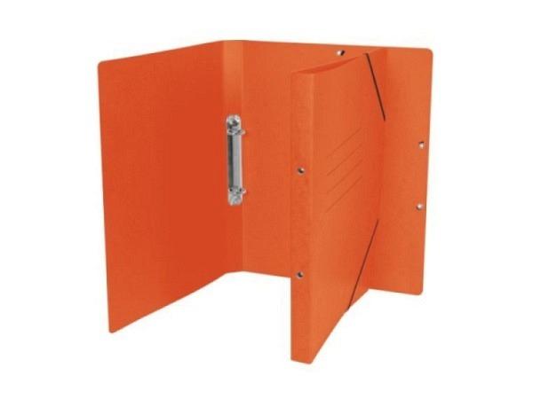 Ringbuch Biella TopColor mit Gummiband A4 20mm orange