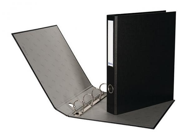Zeigbuch Biella Dinor Quatro A4 4cm schwarz