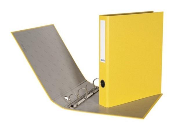 Zeigbuch Biella Dinor Quatro A4 4cm gelb