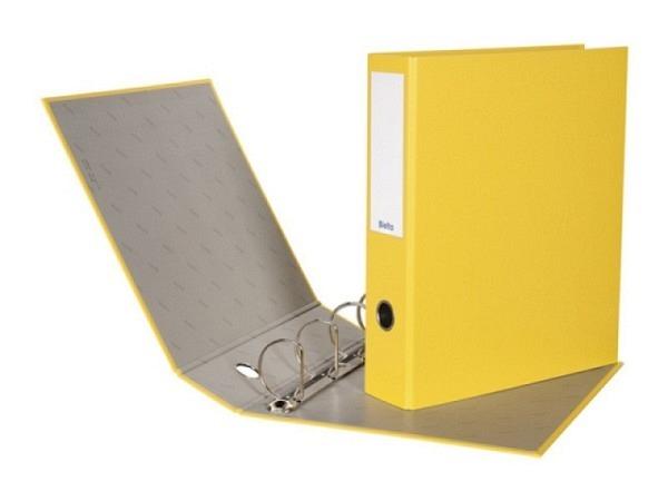 Zeigbuch Biella Dinor Quatro A4 7cm gelb
