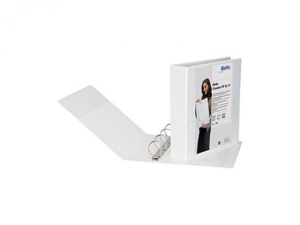 Zeigbuch Biella Creative PP XL 1 A4 7,5cm weiss, 4-Ring