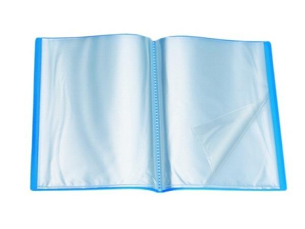 Sichtbuch Viquel weich 10Taschen blau
