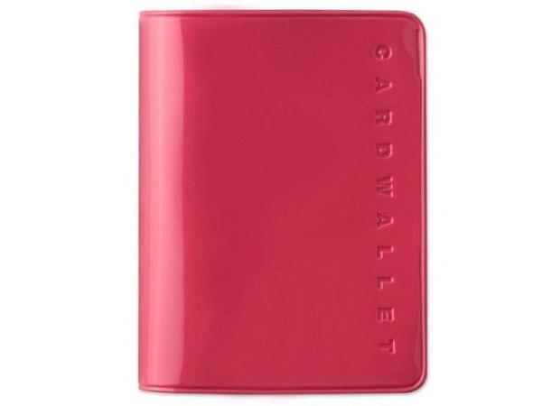 Kreditkartenetui Card Plus pink fürs Aufbewahren Banknoten