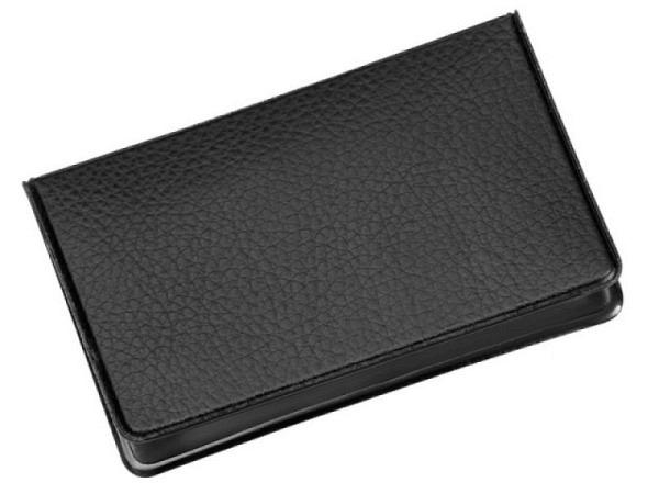 Kreditkartenetui Veloflex Documentsafe 2 schwarze Ausweis.