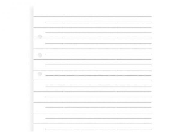 Ringbucheinlagen Filofax Clipbook A5 liniert 25Blatt 80g/qm