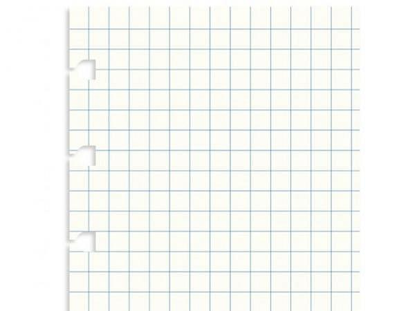 Ringbucheinlage Notizpapier Filofax A5 kariert, 32 Blatt