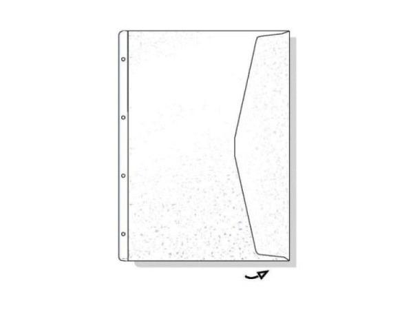 Zeigtaschen Hetzel A4 XL Dokumententasche 5Stk. mit Klappe